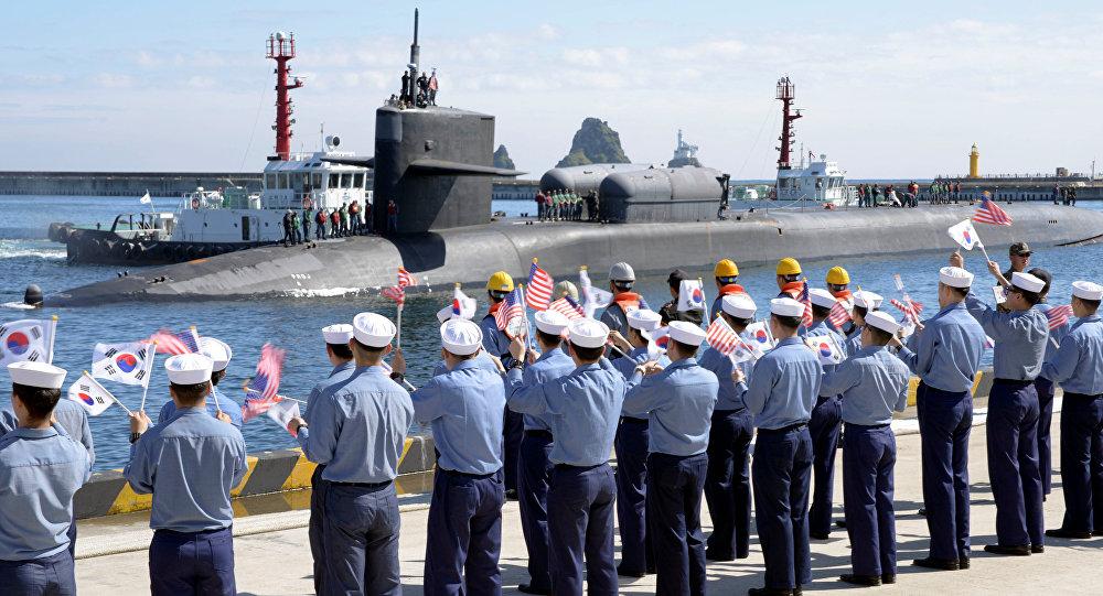 EU y Surcorea inician maniobras marítimas frente a Norcorea