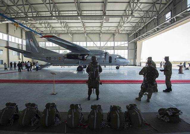 Base militar rusa en Kirguistán