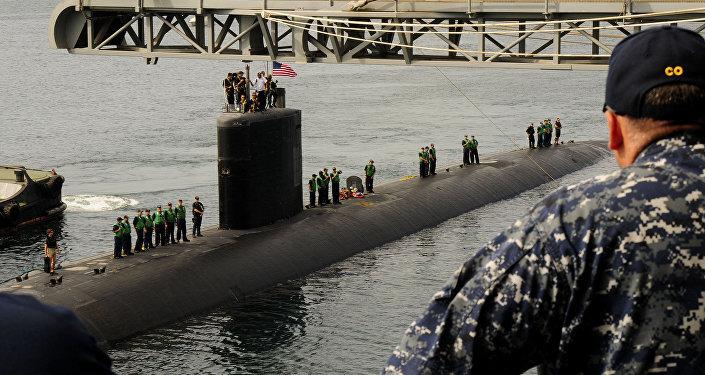 El submarino USS Tucson de la Armada de EEUU (archivo)
