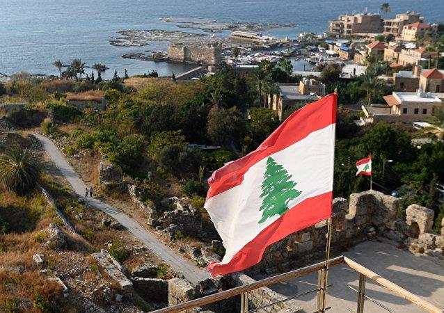 Bandera de Líbano