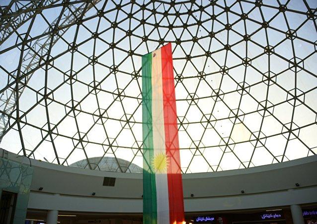 Bandera del Kurdistán iraquí