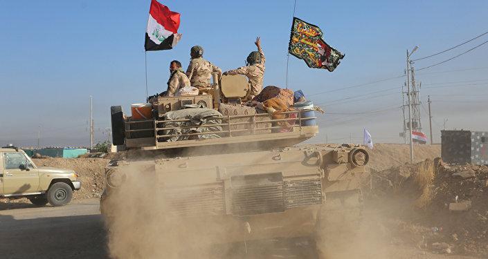 Tropas iraquíes en la provincia de Kirkuk