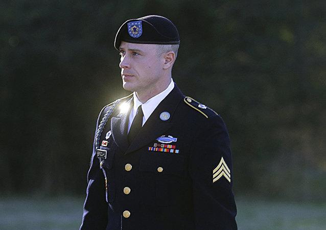 El sargento del Ejército de EEUU Bowe Bergdahl