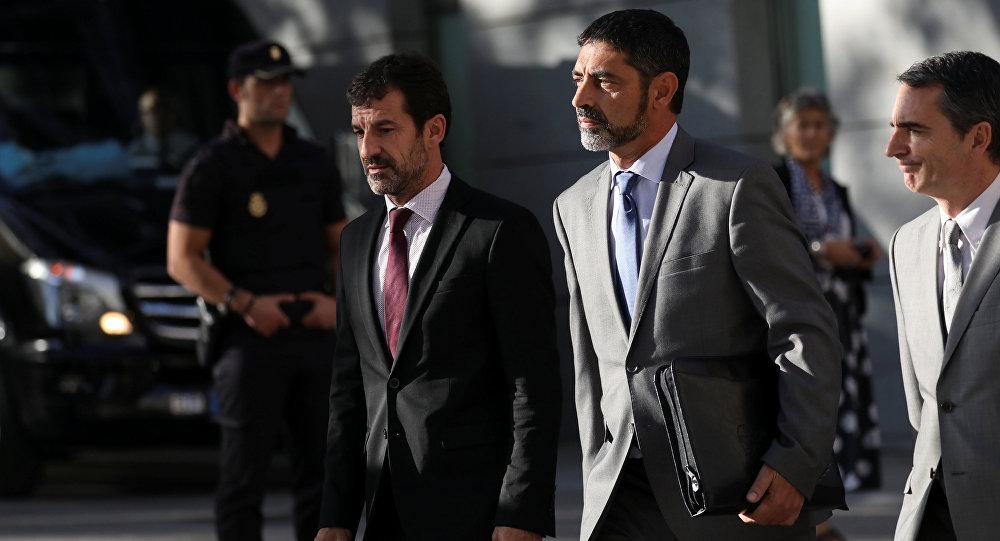 Josep Lluís Trapero, jefe de la Policía catalana