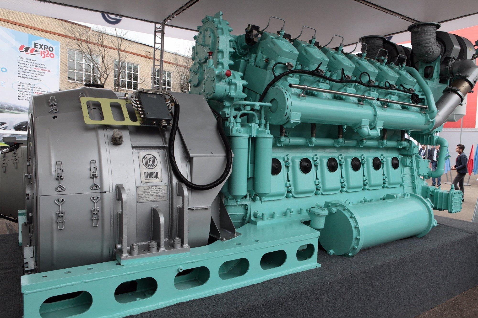 El motor diésel D300 fabricado por Transmasholding