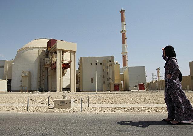 Planta Nuclear Bushehr, Irán (archivo)