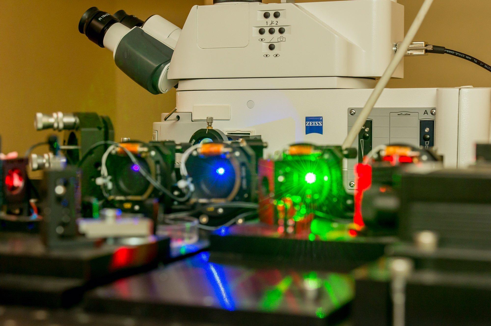 En un laboratorio de la Universidad Politécnica Pedro el Grande de San Petersburgo (SPbPU)