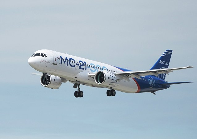 El nuevo avión ruso MC-21