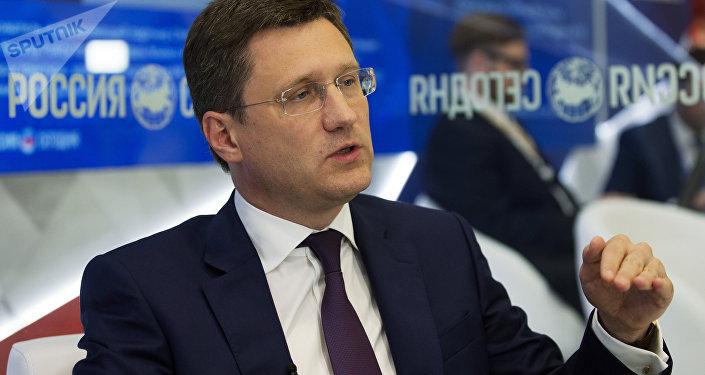 Alexandr Nóvak, el ministro ruso de Energía (archivo)