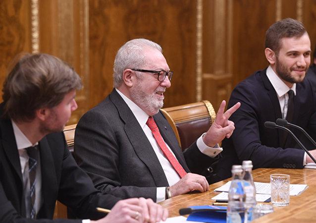 Pedro Agramunt, exjefe de la Asamblea Parlamentaria del Consejo de Europa