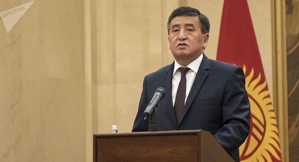 Sooronbái Zheenbékov, el nuevo presidente de Kirguistán
