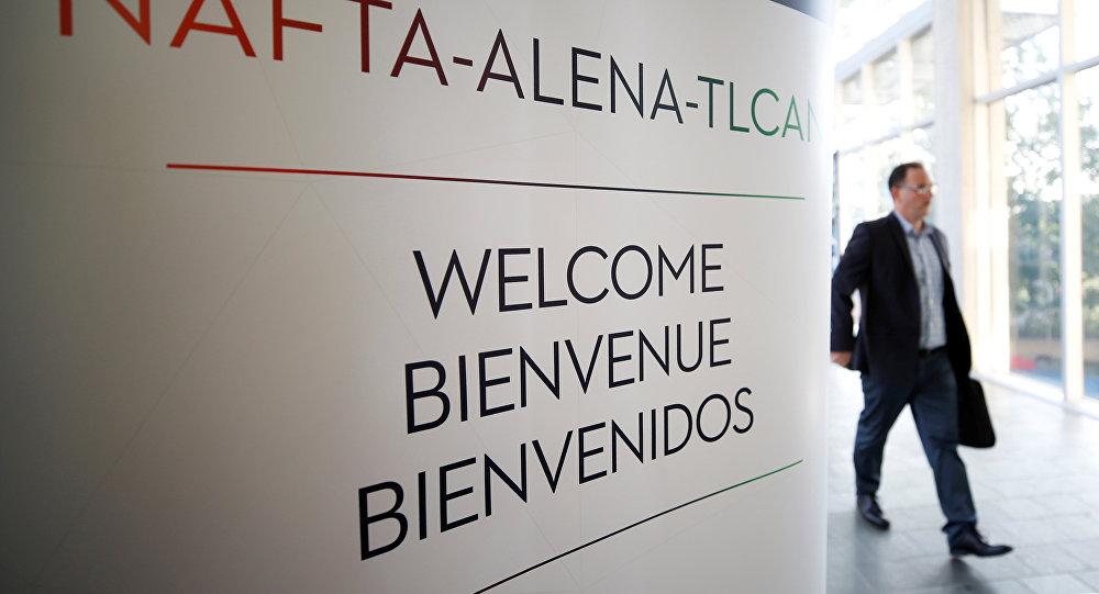 Negociación del TLCAN en Ottawa, Canadá