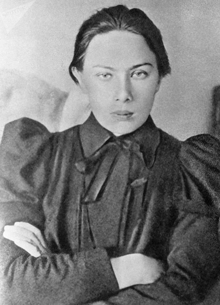 El rostro femenino de la Revolución rusa