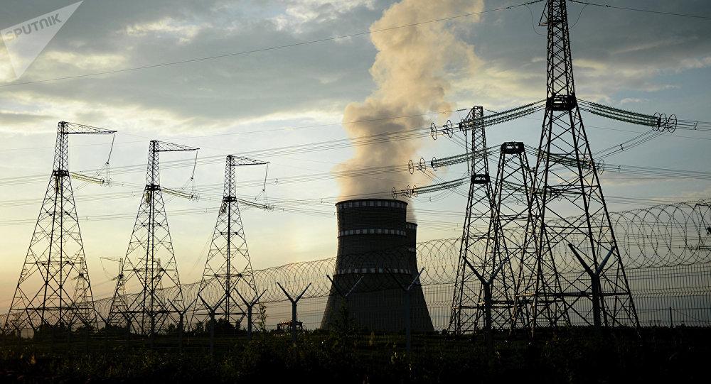Planta de energía nuclear (imagen referencial)