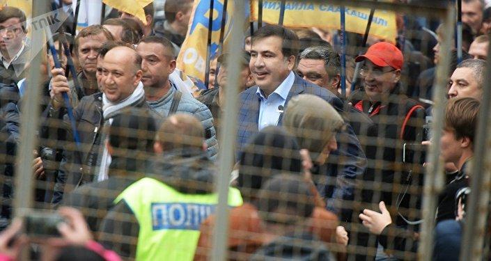 Partidarios de Saakashvili
