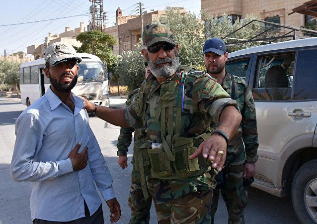 Issam Zahreddine, general sirio