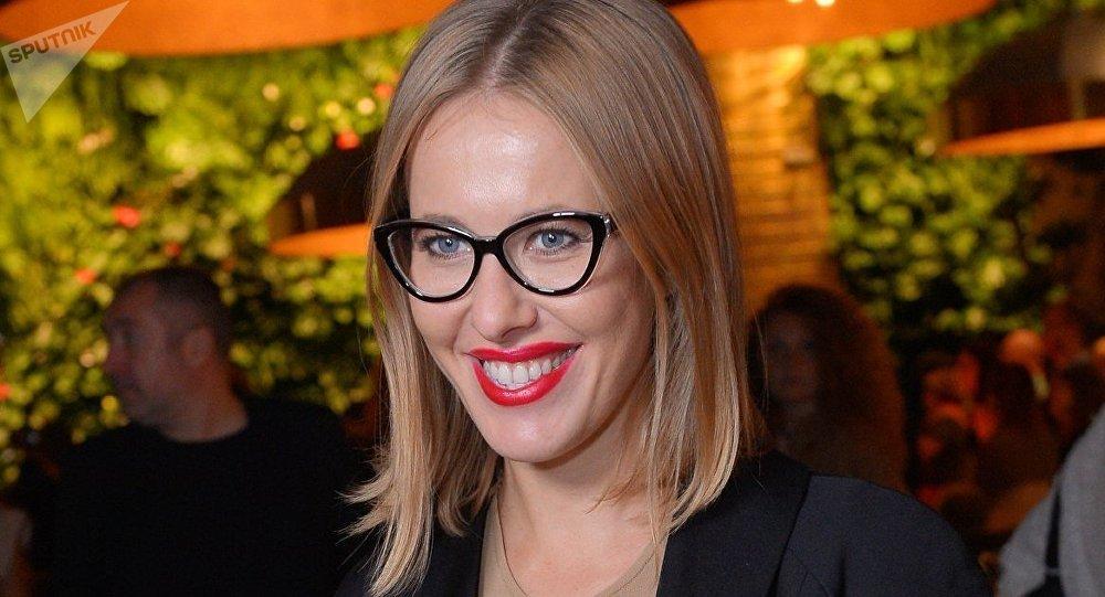 La presentadora Ksenia Sobchak