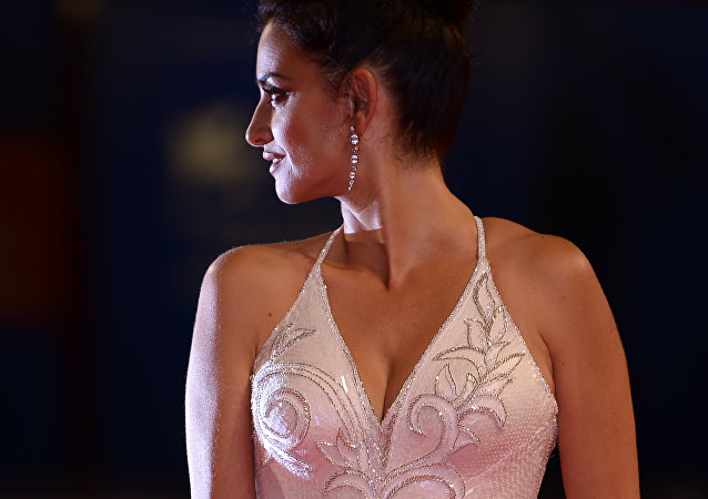 Penélope Cruz, actriz española
