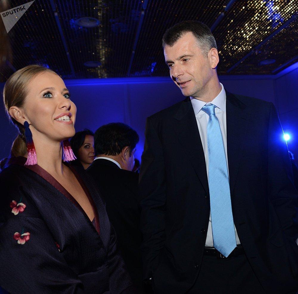 Periodista moscovita Sobchak se presenta a presidenciales rusas