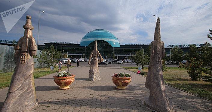 Aeropuerto internacional de Astaná (imagen referencial)