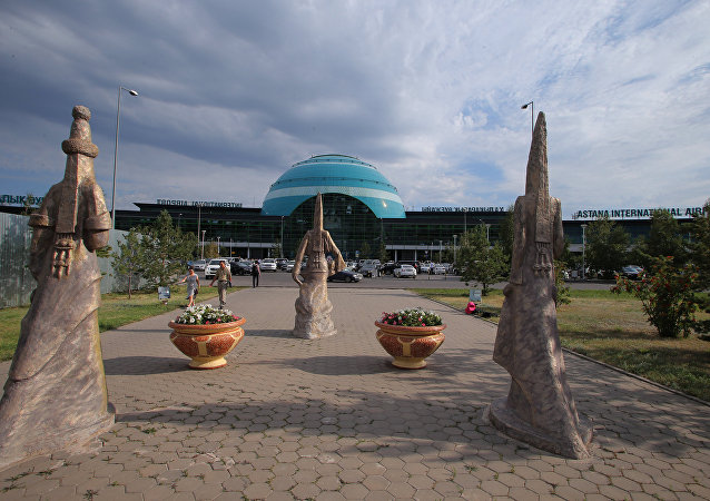 Aeropuerto internacional de Astaná (Nursultán, Kazajistán)