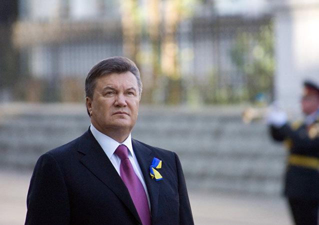 Víctor Yanukóvich, el expresidente ucraniano