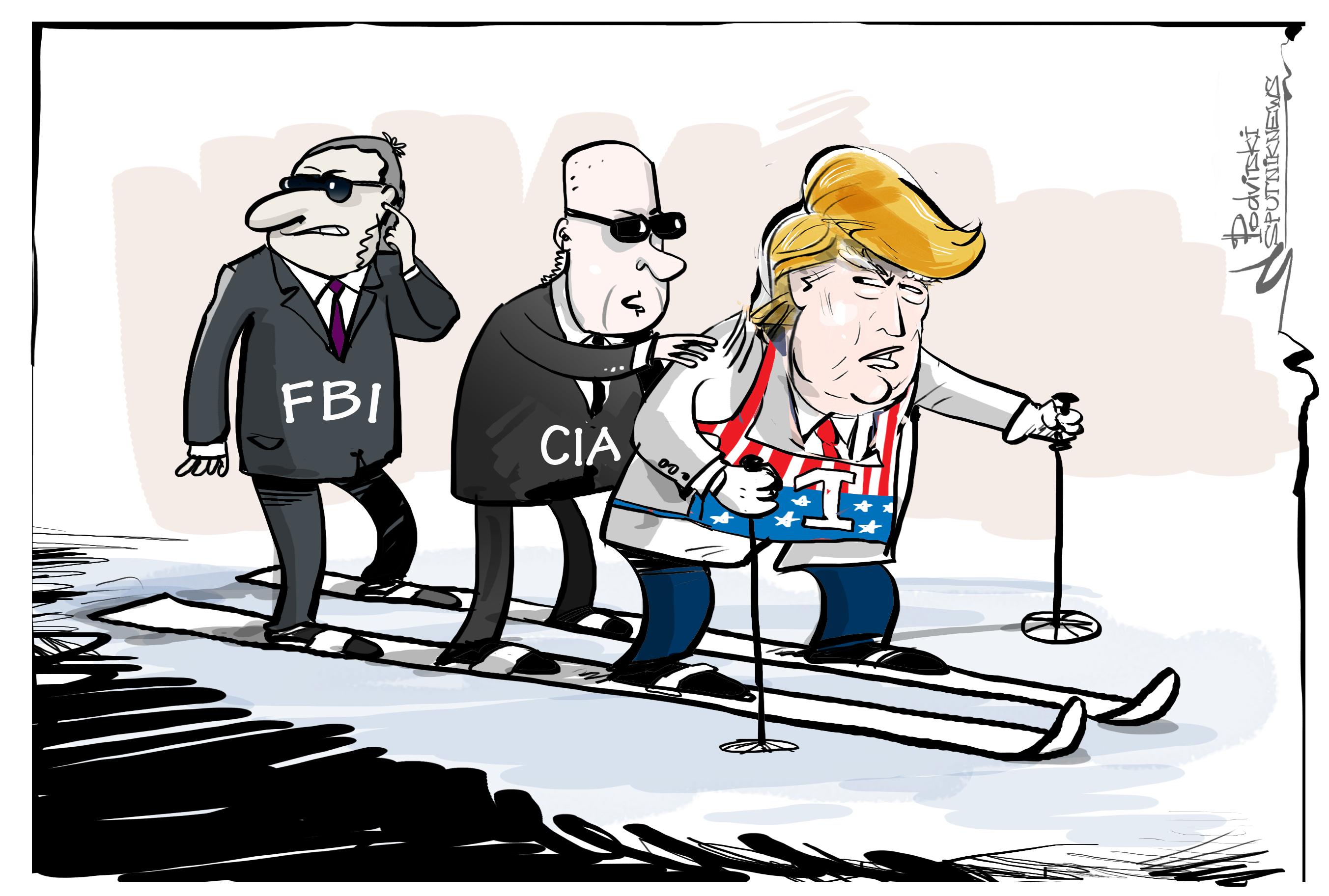 Trump: el 'presidente impredecible' engañado por la CIA