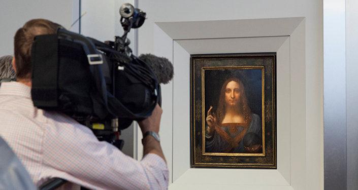 'Salvator Mundi', Leonardo da Vinci