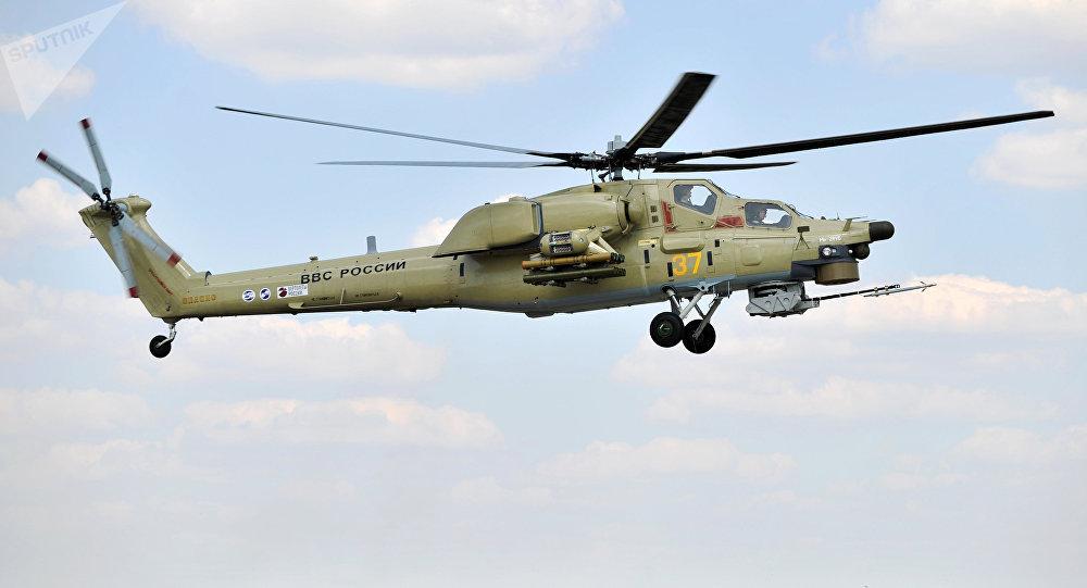 Helicóptero ruso Mi-28UB (imagen referencial)
