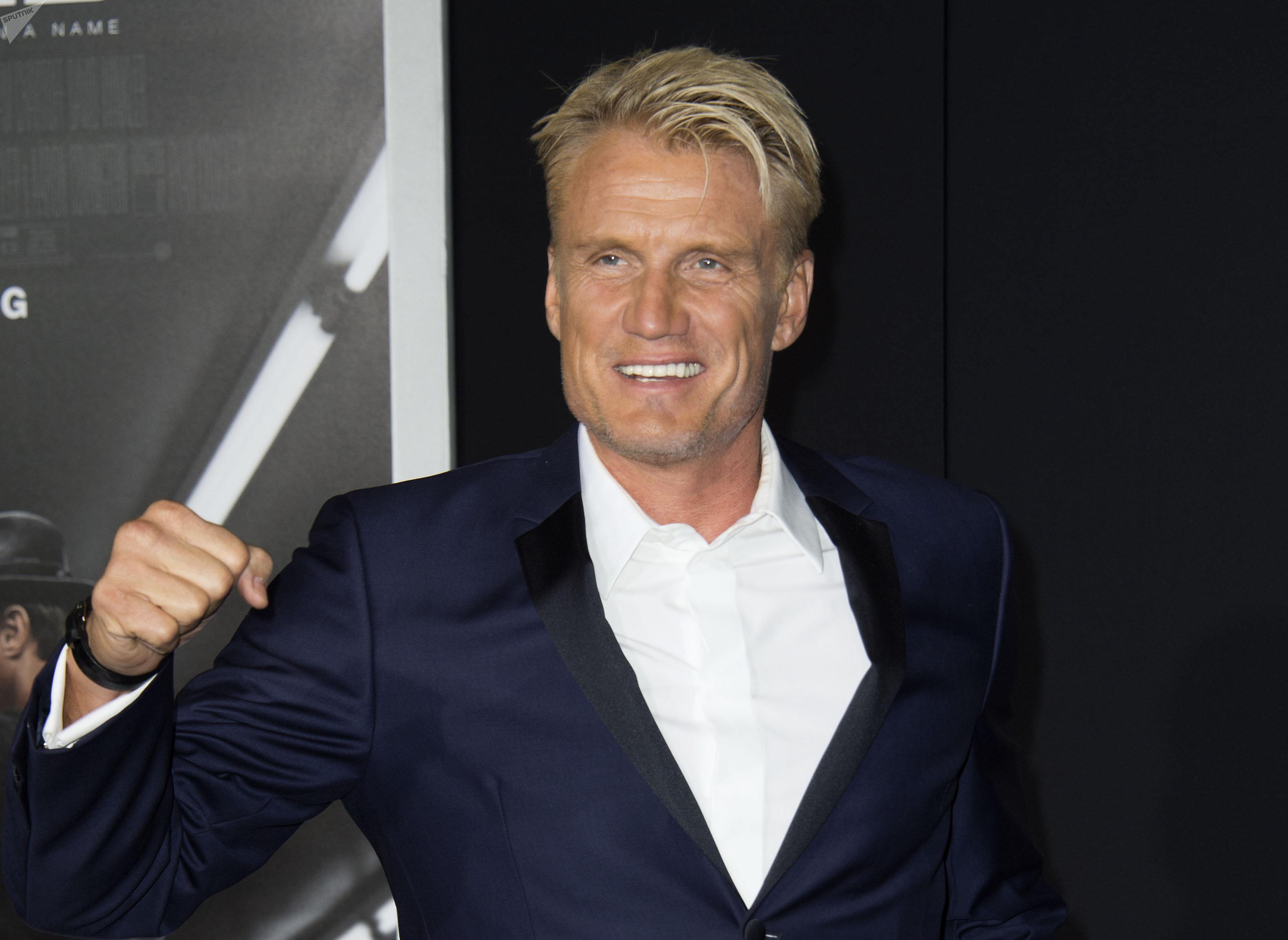 Dolph Lundgren, actor sueco de Hollywood