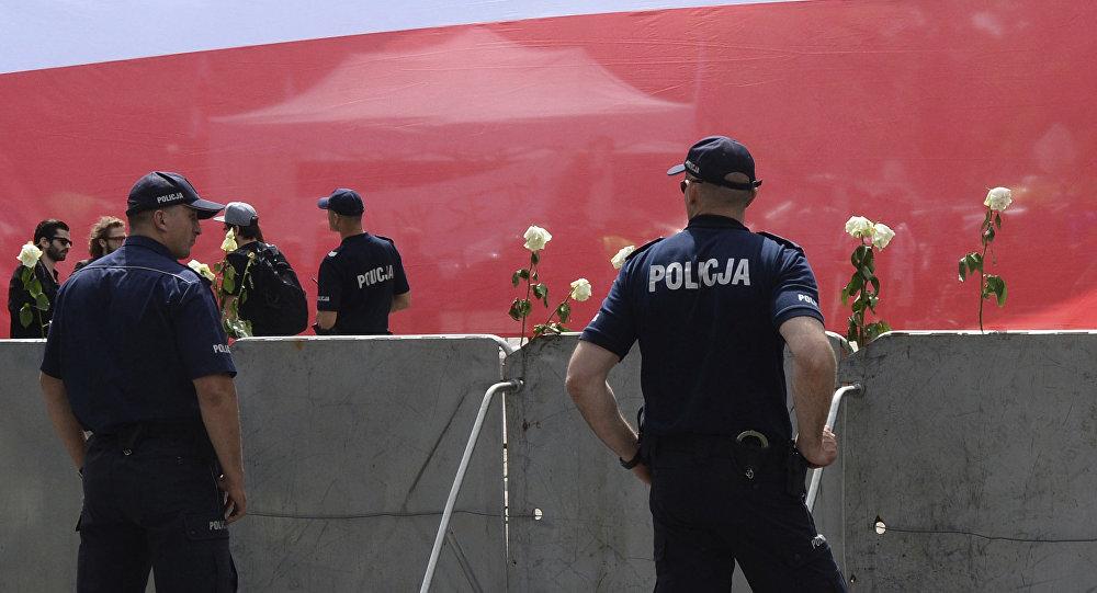 Policía de Polonia (archivo)