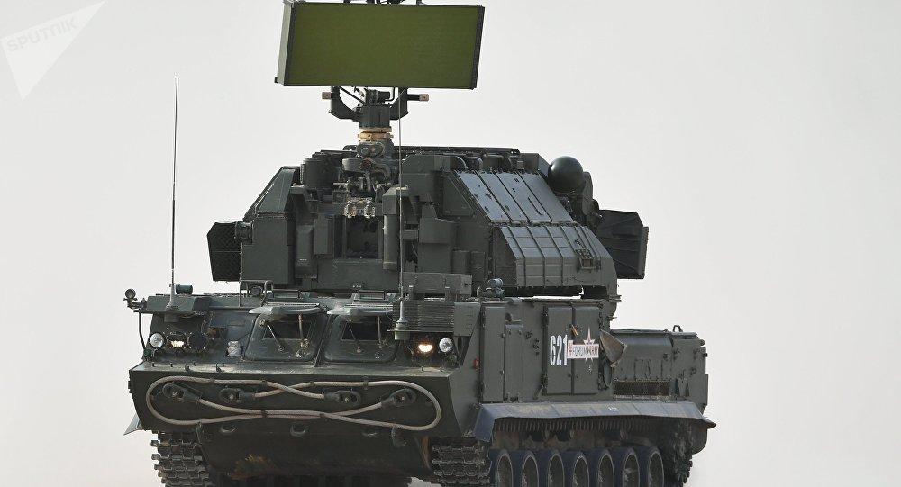 El sistema de misil superficie-aire Tor