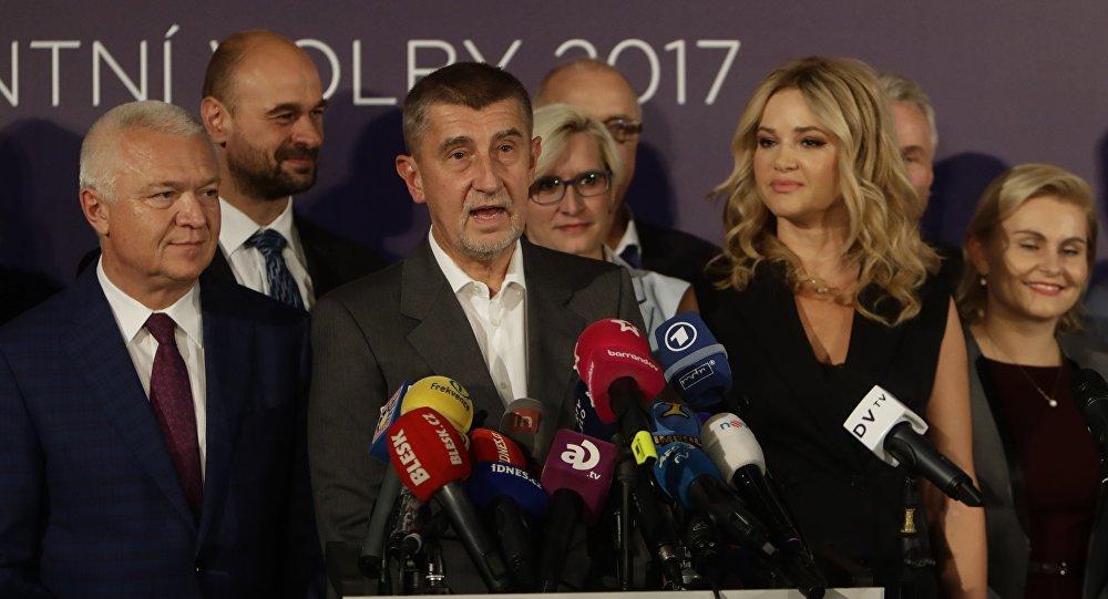 Andrej Babis,  líder del movimiento Alianza de Ciudadanos Descontentos (ANO)