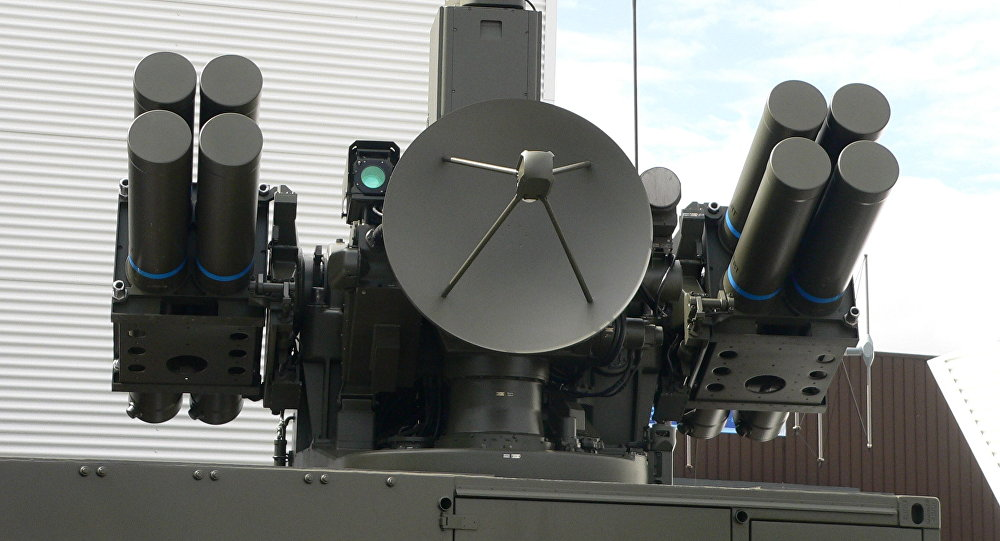 El sistema de misiles teledirigidos francés Crotale, el antecesor del nuevo sistema antiaéreo iraní (imagen referencial)