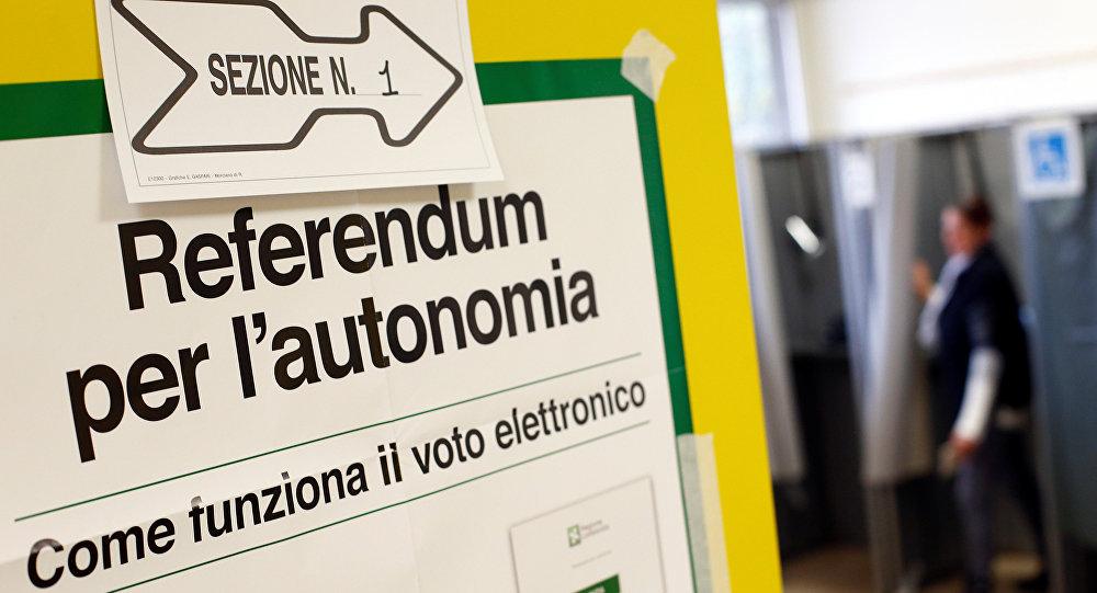 Italia: autonomistas ganaron referéndum en Lombardía y Véneto