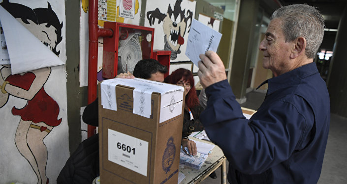 Cierran los centros de votación para las elecciones legislativas de Argentina