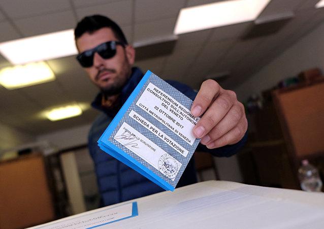 El referéndum en Véneto