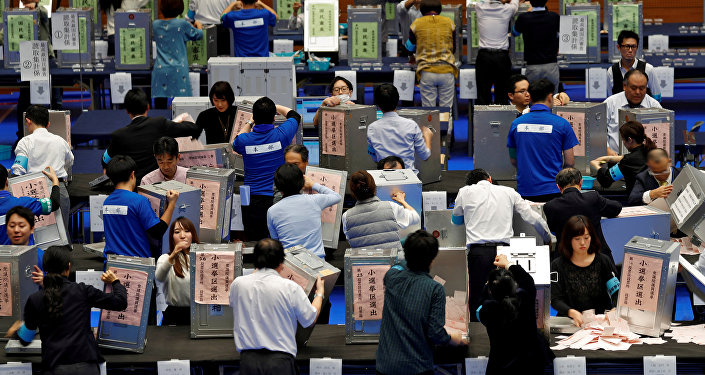 Shinzo Abe es reelegido como primer ministro de Japón