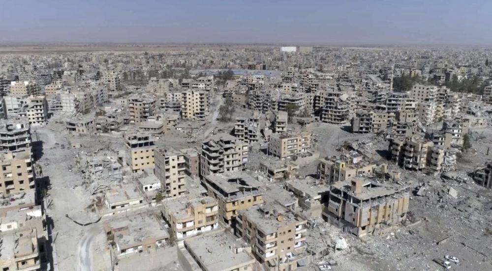 Las ruinas de Al Raqa, nueva muestra del 'doble rasero' de EEUU