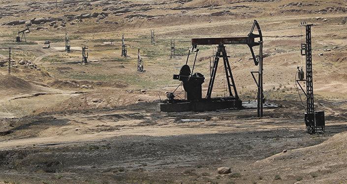 Un yacimiento de petróleo en Siria (archivo)