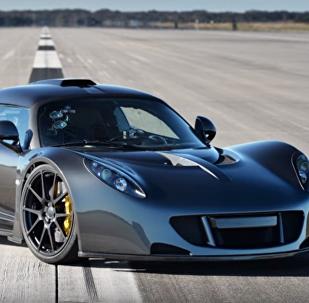 El auto más rápido del mundo: el Venom F5