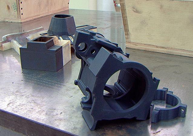 Las piezas imprimidas por la nueva impresora 3D de UVZ