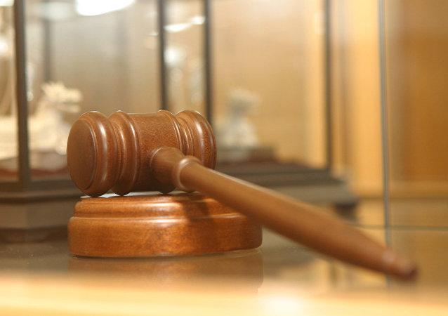 El mazo de un juez (imagen referencial)
