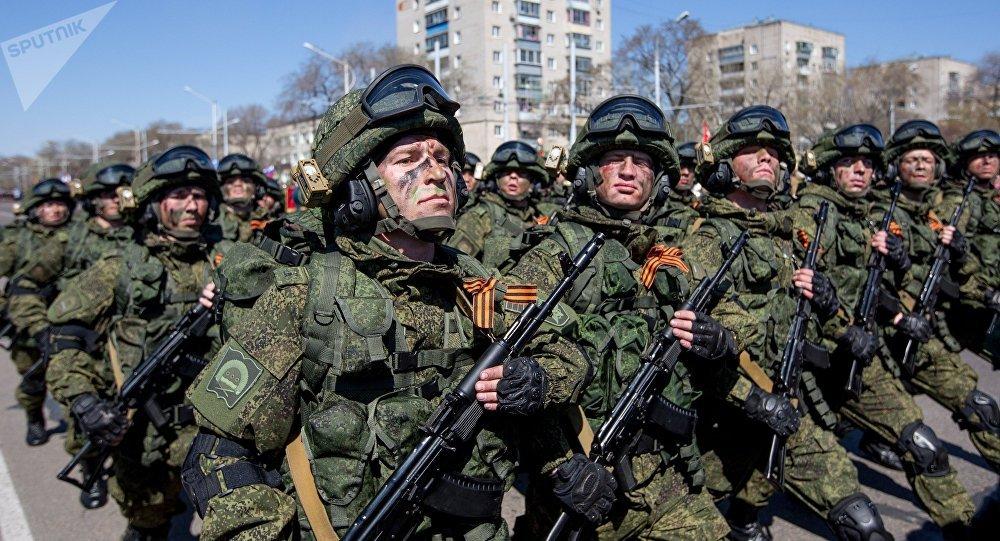 Fuerzas Armadas de Rusia (archivo)