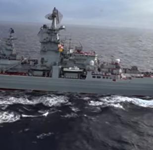 Piotr Veliki, buque más potente de la Armada rusa