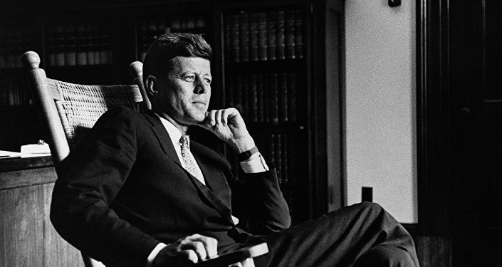 John F. Kennedy, expresidente de EEUU (archivo)