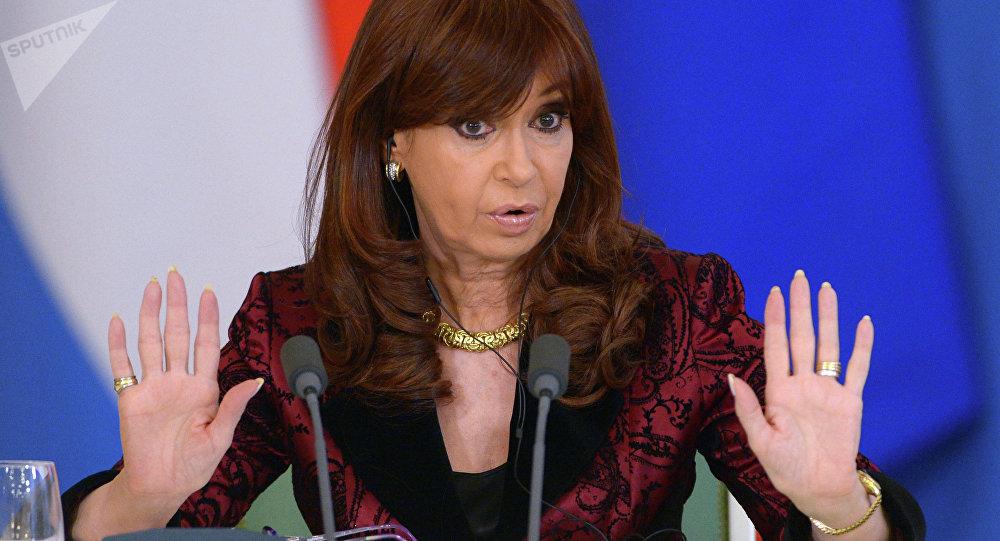 Expresidenta de Argentina, Cristina Fernandez de Kirchner (archivo)