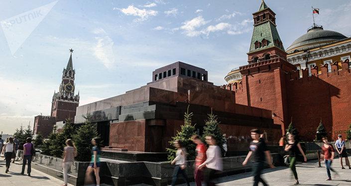Mausoleo de Lenin en la Plaza Roja de Moscú (imagen referencial)