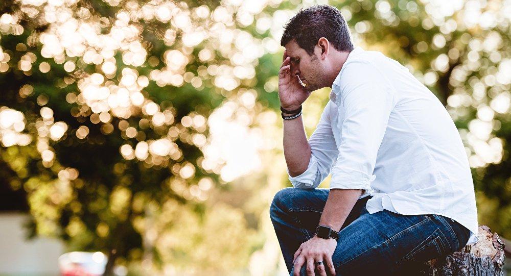 Un hombre triste