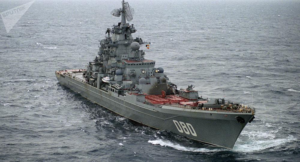 Crucero lanzamisiles ruso Almirante Najímov